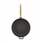 Сковорода чугунная в матовом черном покрытии
