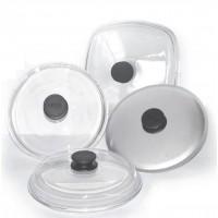 Стеклянные крышки Размеры крышек стеклянных Диаметр 220 мм.