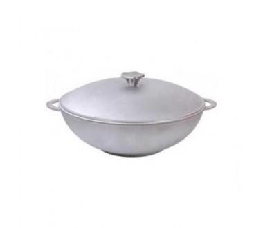 Сковорода WOK алюминиевая с крышкой